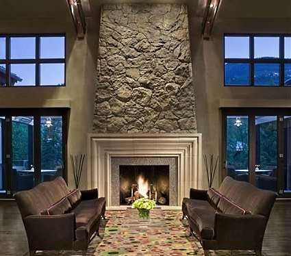 gallery stone fireplace surround ideas