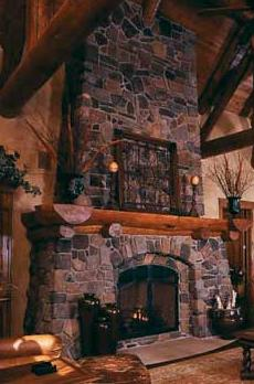 standout stone fireplace ideas soar to new heights - Stone Fireplace Design Ideas