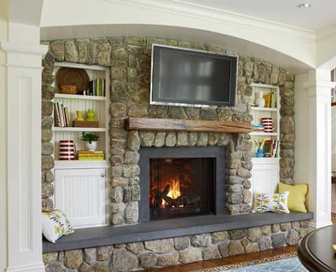 Fireplaces On Pinterest Tv Over Fireplace Tv And Tv