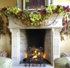 holiday fireplace photos