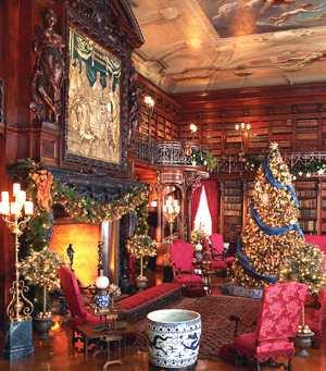 holiday fireplace photos