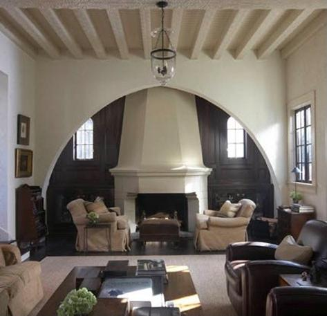 Inglenook fireplace designs cozy nooks and crannies for Spanish style fireplace