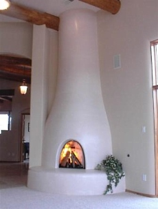 kiva fireplace