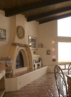 kiva fireplace