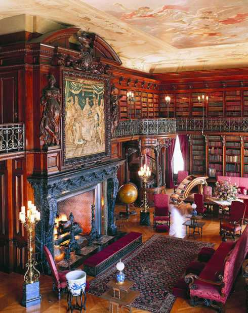 A Legendary Library Fireplace Designed To Speak Volumes