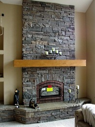 manufactured stone fireplace photo gallery of ideas rh standout fireplace designs com Rustic Stone Fireplaces Rustic Stone Fireplaces