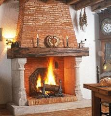 masonry fireplace designs