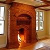 masonry fireplace designs
