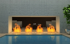 outdoor gas fireplaces
