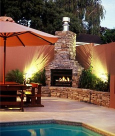 outdoor stone fireplace design - Outdoor Fireplace Design Ideas