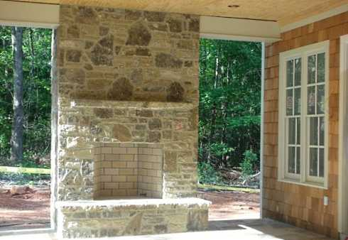 patio fireplace designs - Patio Fireplace Designs