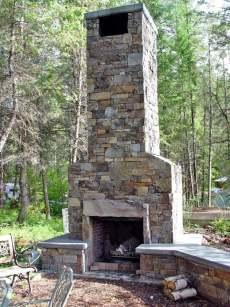 patio fireplace designs