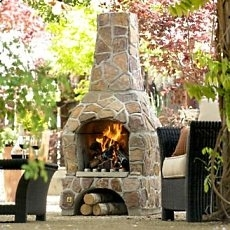 patio fireplaces