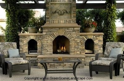 More Patio Pergola Designs For Outdoor Fireplaces