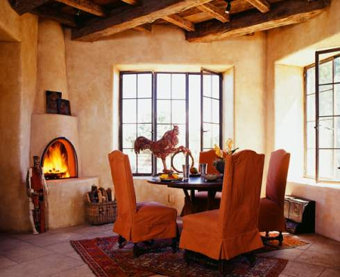 Photos of fireplaces a host of heartwarming hearths for Kiva fireplaces