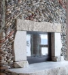 pictures of rock fireplaces