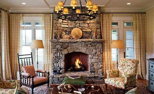 Pictures Of Stone Fireplaces . . . Handcrafted Hearths!