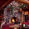 river rock fireplace pictures