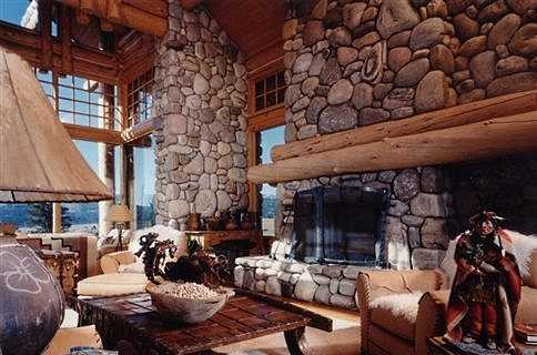 rock fireplace mantel. More Rustic Wood Fireplace Mantel Shelves The River Rock Surround  Soaring Skyward