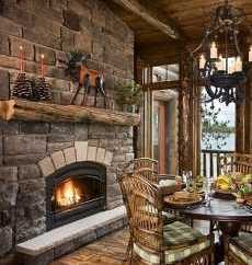 rock fireplace pictures
