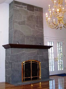 The Slate Fireplace . . . A Clean Slate For YOUR Special ...