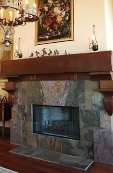 fireplace slate. slate stone fireplace The Slate Stone Fireplace  Veritably Versatile