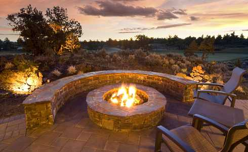 Fire Pit Designs stone fire pit designs . . . veritable works of art!