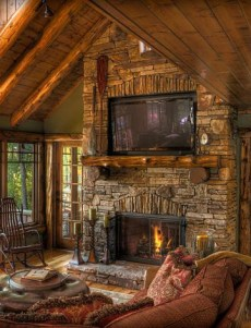 Stone Fireplace Design Fascinating Standout Stone Fireplace Designs Pictures Cozy Classics 2017