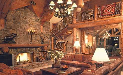 Standout Stone Fireplace Designs Pictures . . . Cozy Classics!