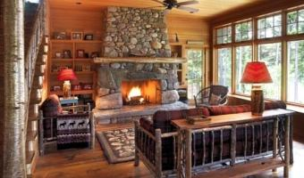 stone fireplace hearth