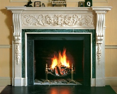 The Custom Stone Fireplace Mantle A Masterpiece In Stone
