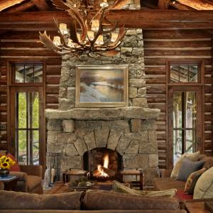 The stunning stone fireplace pictures featured here showcase a sampling of the best rustic fireplace designs we