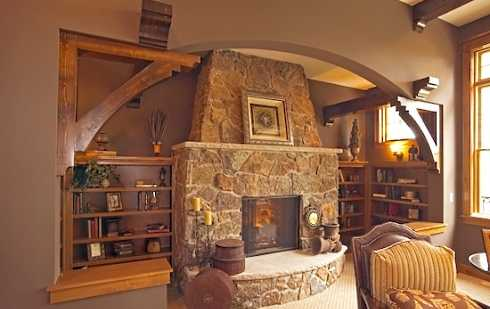 Stones Fireplaces standout stone fireplaces pictures . . . real standouts!
