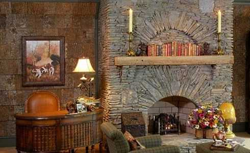 Standout Stone Fireplaces Pictures . . . REAL STANDOUTS!