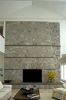 stone fireplaces
