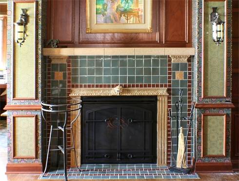 The Standout Tile Fireplace Surround Amazing Arts And
