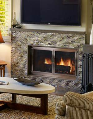 Fireplace burning desires pinterest - Fireplace designs with tv ...