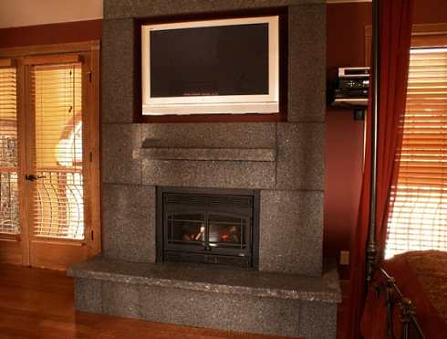 Gallery For Fireplace Mantel Tv Shelf