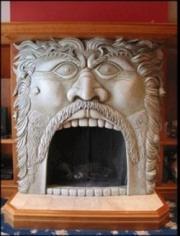 unique fireplace design