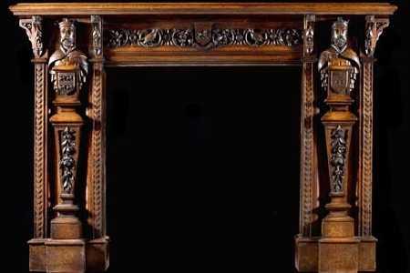 Westland London . . . Extraordinary Antique Fireplace Mantels!