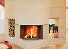 wood burning fireplace inserts