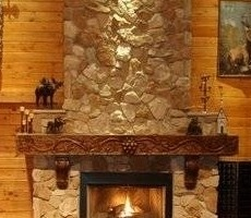 Unique Fireplace Mantels Unique Fireplace Mantels Log Mantels Twisted Juniper Gorgeous Inspiration with unique fireplace mantel decorations