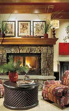 Wood Fireplace Mantel Shelves . . . Standout Custom Designs!