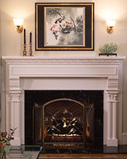Wood Fireplace Mantels . . . A Wealth Of Warmth!