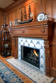 The Wood Fireplace Surround...Simple Elegance to ...