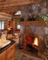 all corner fireplaces