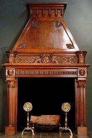 antique fireplace mantels