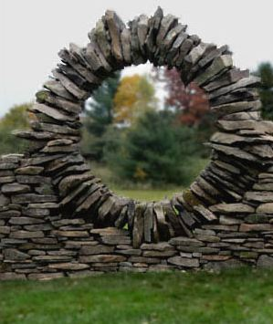 building outdoor fireplace