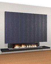 contemporary design fireplace