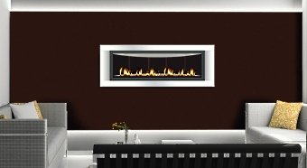 contemporary fireplace